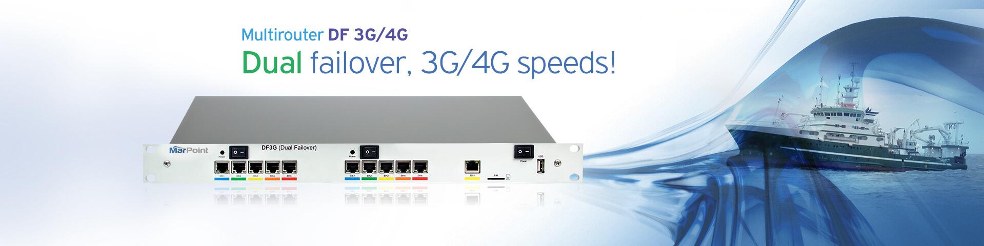 Multirouter DF 3G/4G - Marpoint