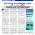 Demand for internet at sea signals shift in crew welfare